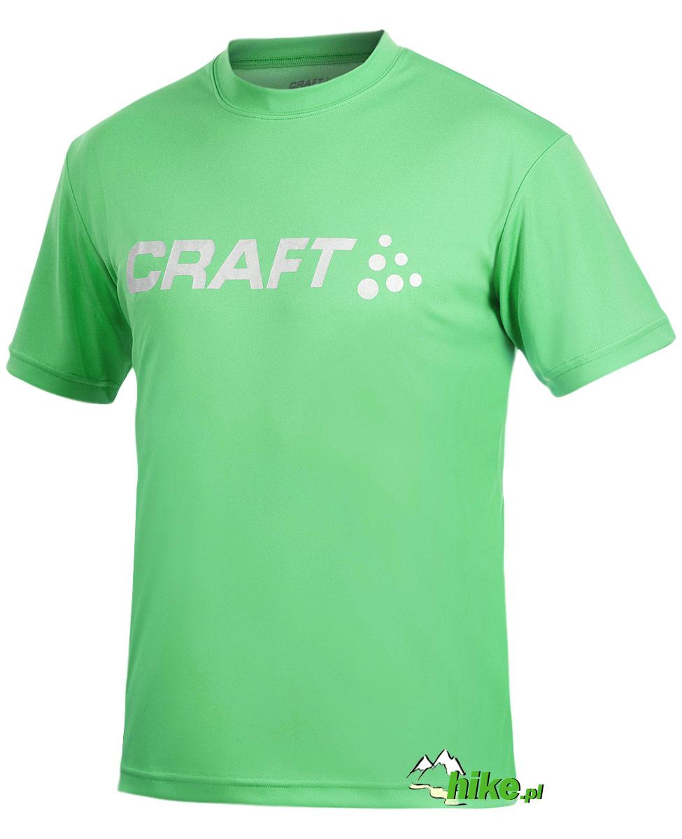 e404b690b Lekka męska koszulka na maraton z dużym logiem na klatce piersiowej ...