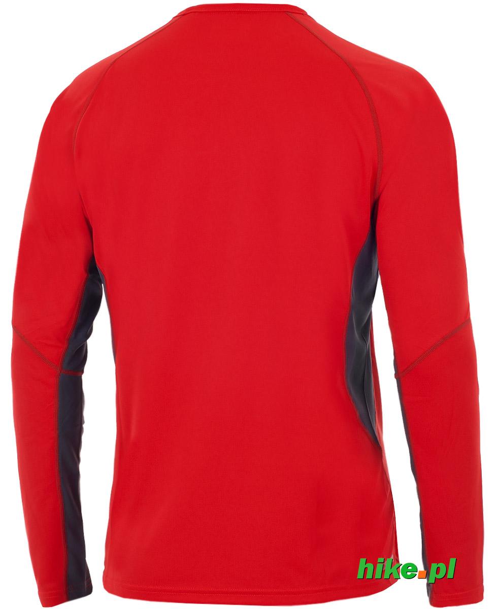 fc57cef8c66877 męska koszulka długi rękaw Berghaus Tech Tee Base Crew LS czerwona ...
