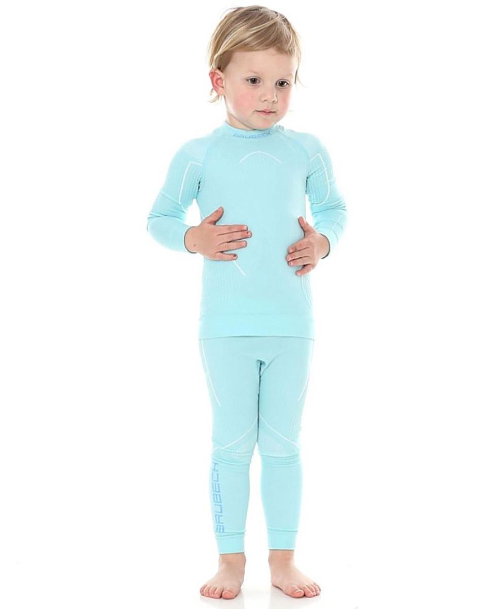 3d85f0eed981 dziecięce kalesony termoaktywne Brubeck Thermo błękitne - Hike.pl