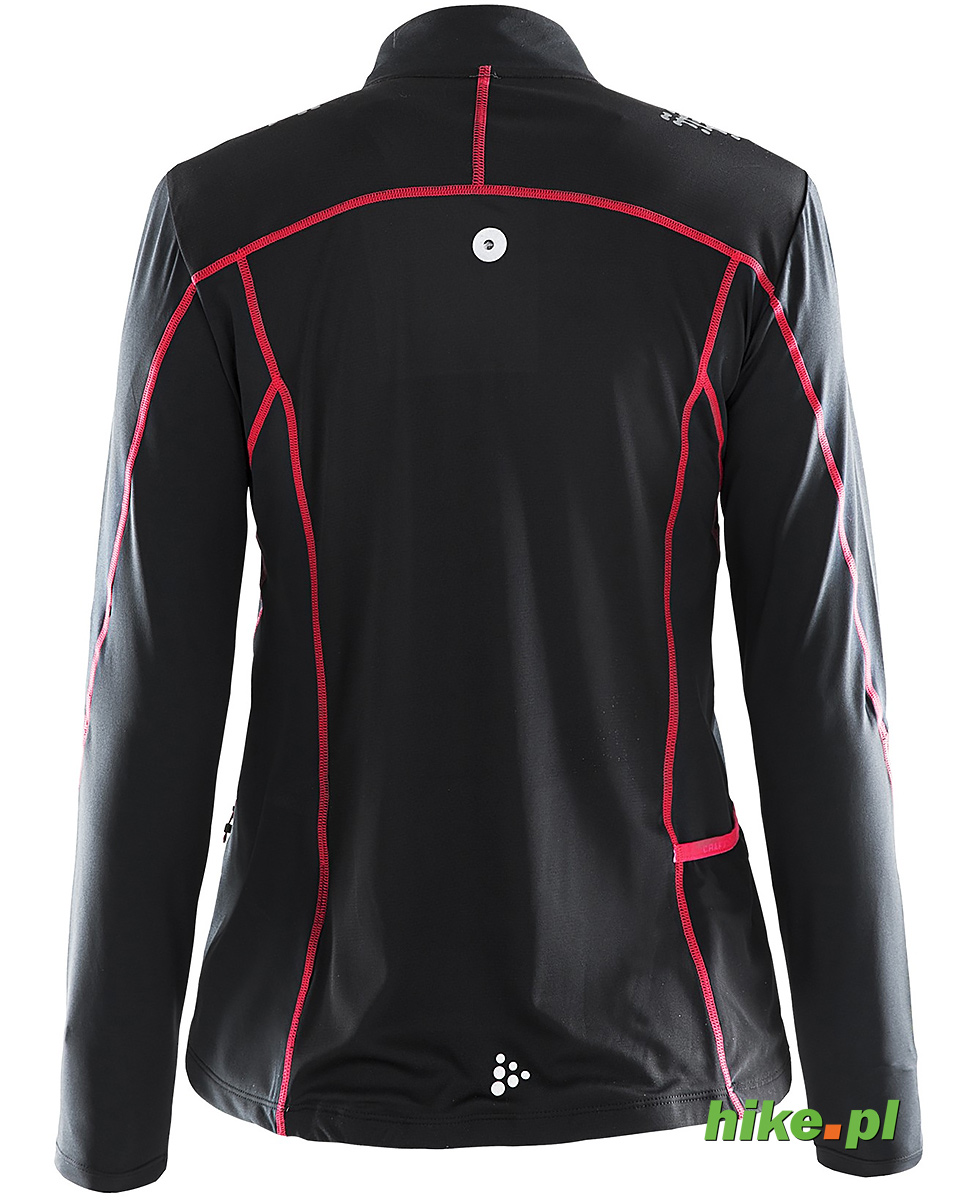 85786cbf damska bluza do biegania Craft Trail LS Shirt czarno-różowa SS15 ...