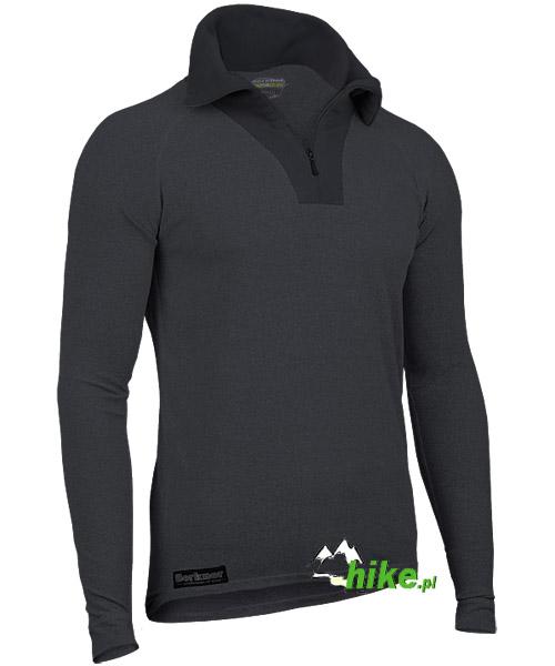 1d858576b92a meska termoaktywna koszulka z rozpinanym golfem Berkner Action - hike.pl