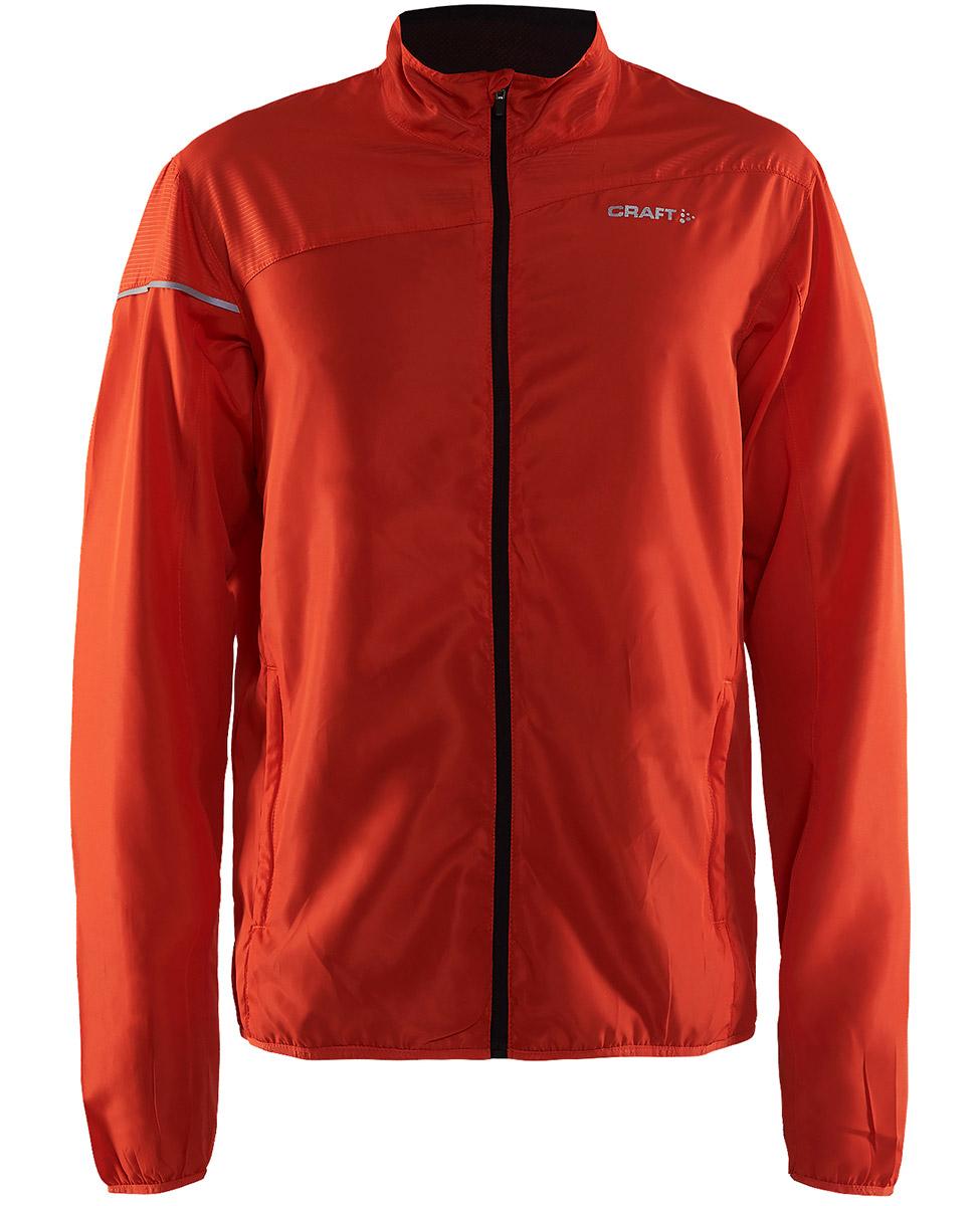 Craft Radiate Jacket - męska kurtka do biegania czerwona