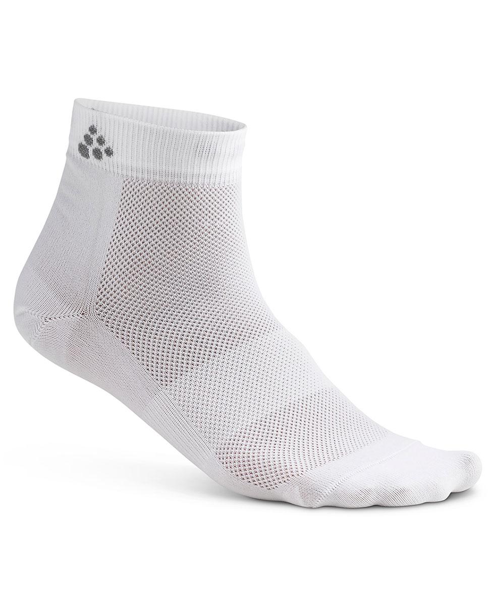 c229aa7a7f9628 Craft Cool Mid 3-Pack Sock - skarpety sportowe - białe - 3 pary