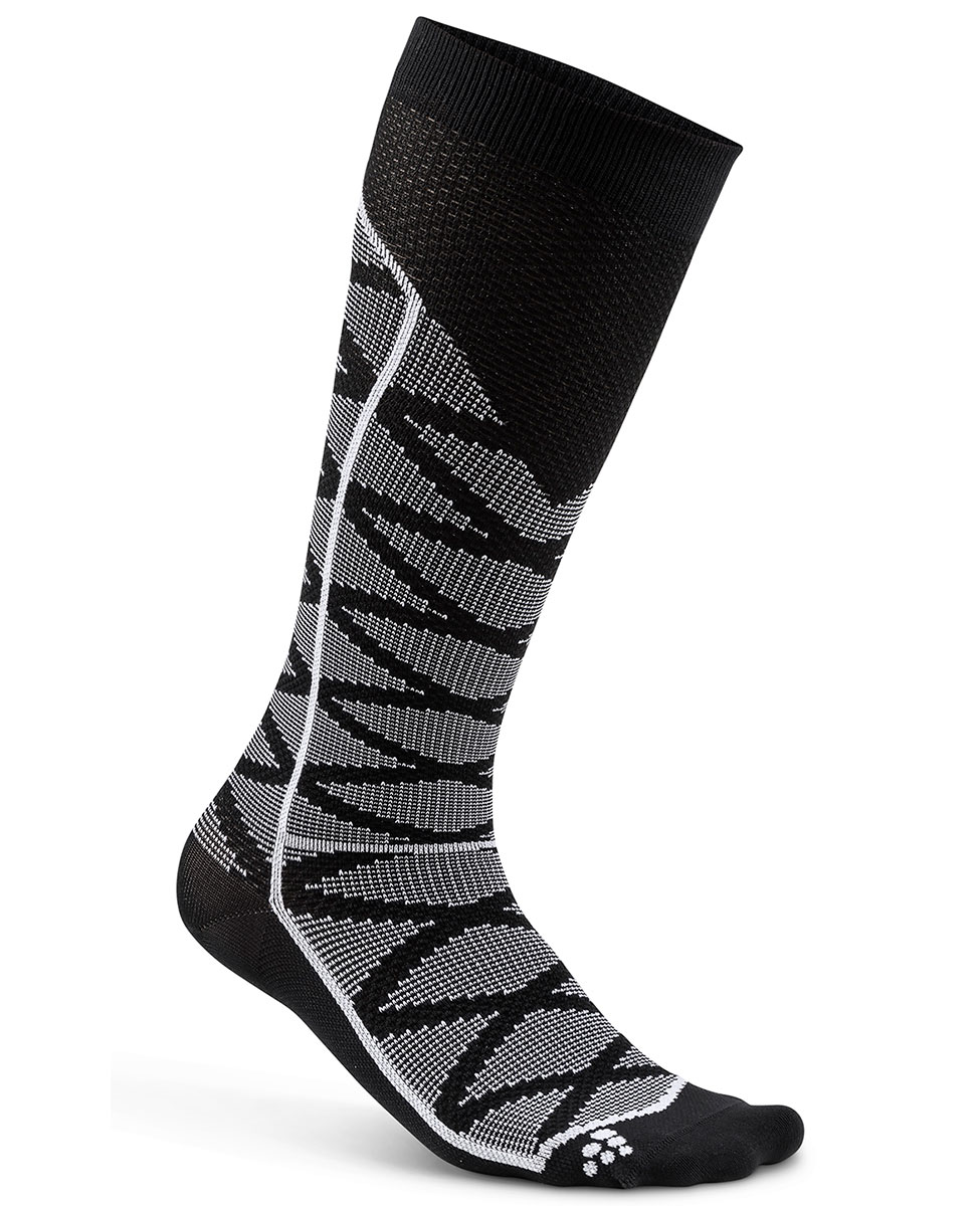 Craft Compression Pattern Sock - skarpety kompresyjne - szare