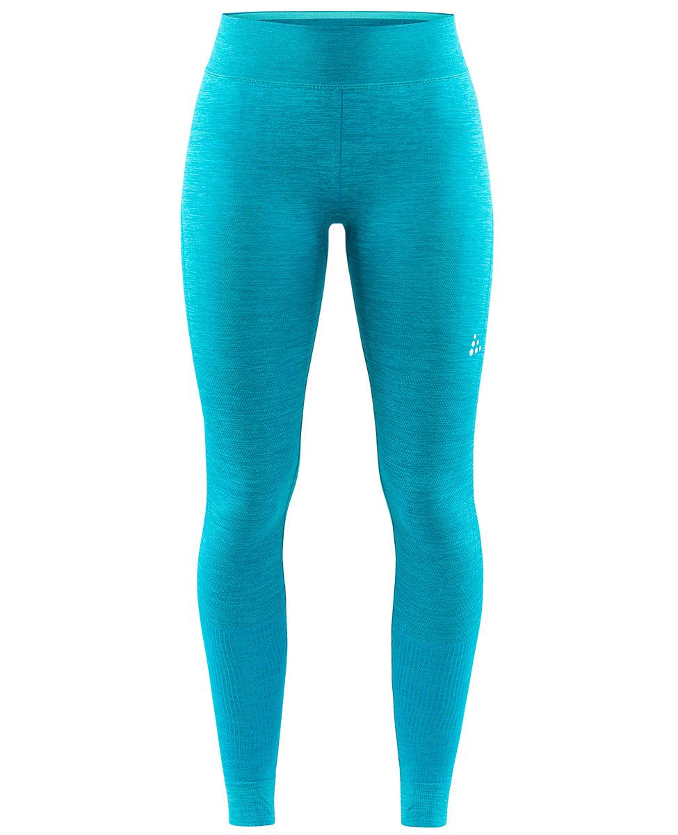9fd6e33382568a Craft Fuseknit Comfort Pants - damskie ciepłe getry niebieskie