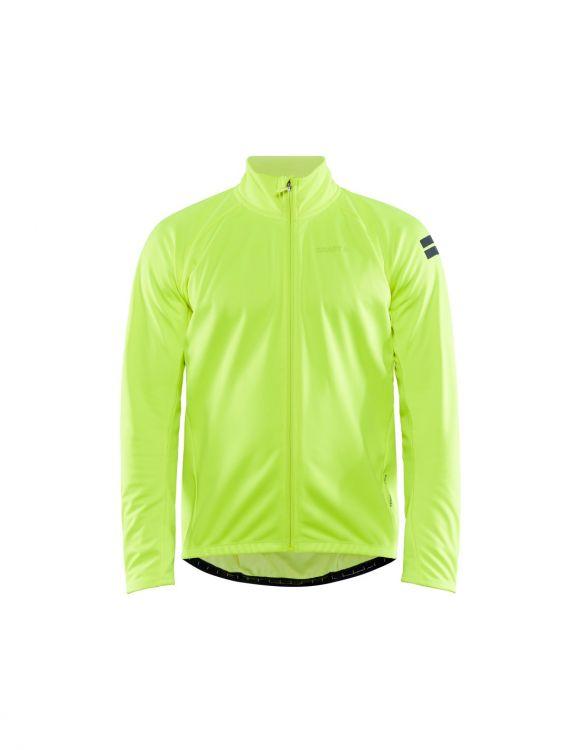 Craft Core Ideal Jacket 2.0 - męska wiatroszczelna kurtka żółta