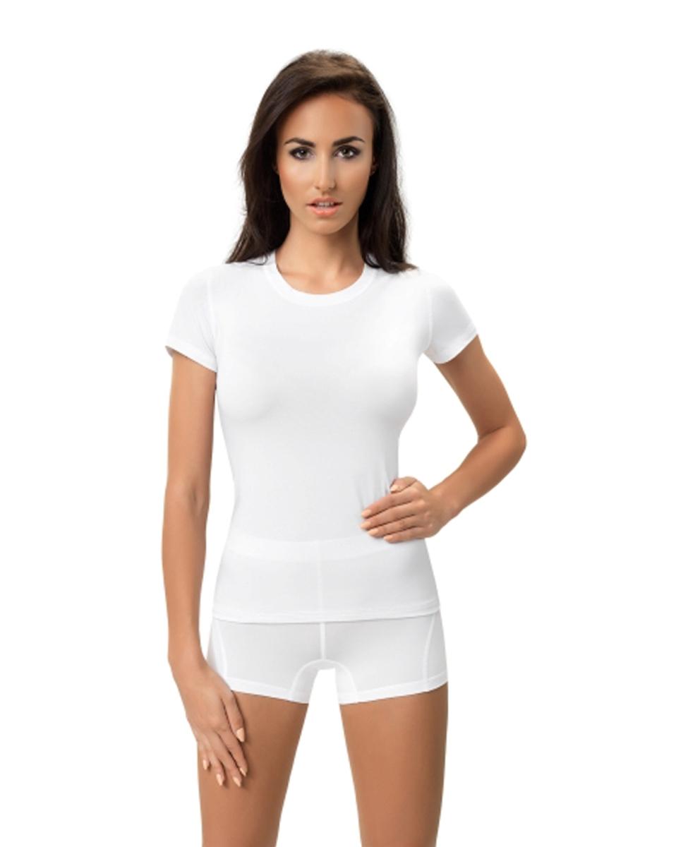 df809a16ccc231 GWINNER PERFECT FIT damska koszulka termoaktywna, biała
