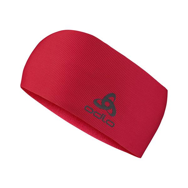 opaska Odlo Headband Move Light czerwona 30259