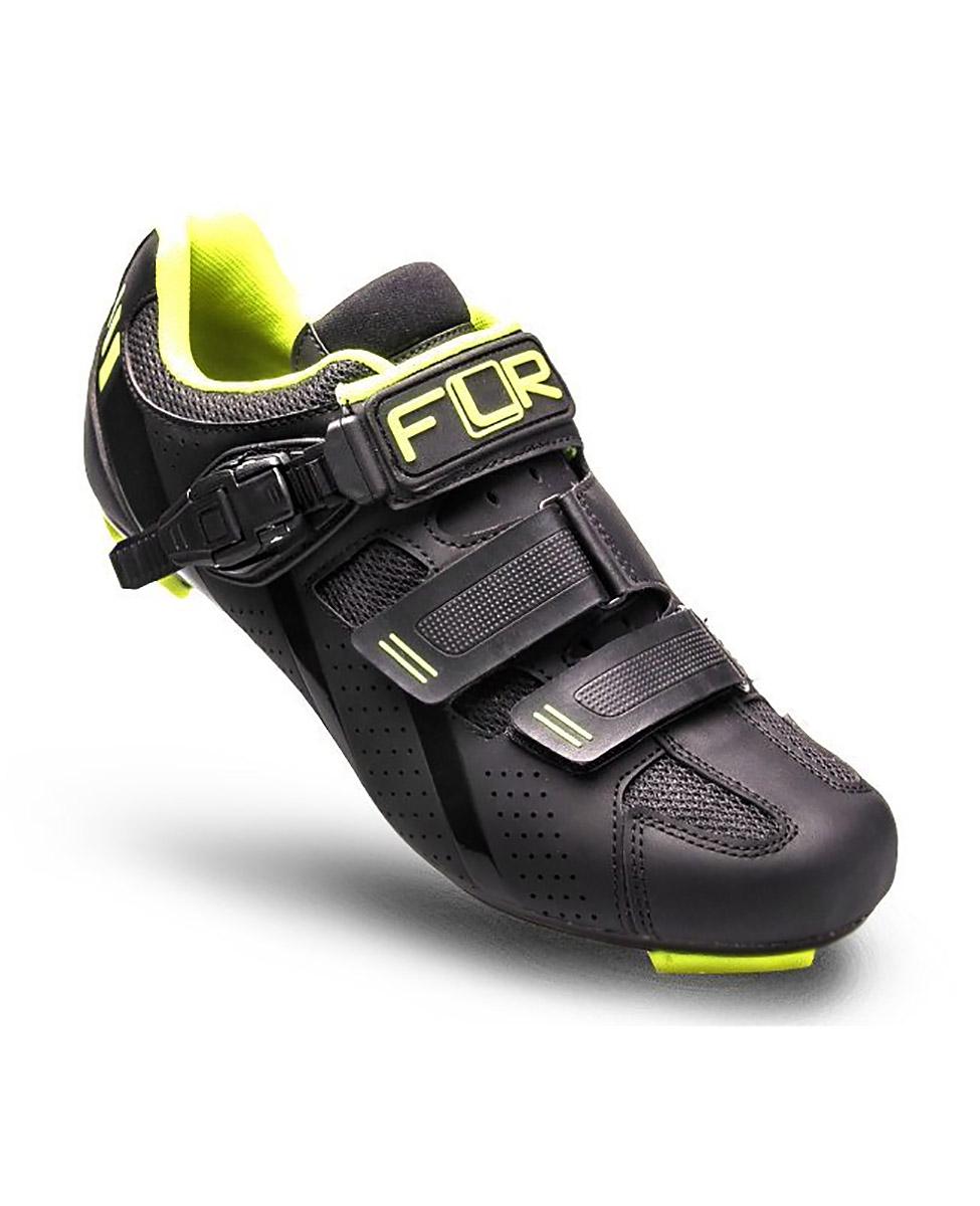 FLR F 15.III buty rowerowe szosowe czarne żółte