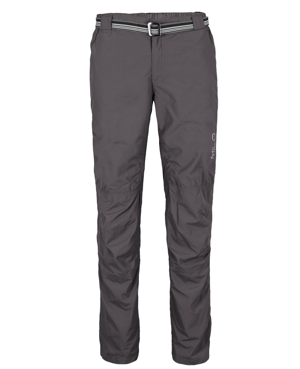 MILO MAPE  - męskie spodnie trekkingowe, ciemnoszare