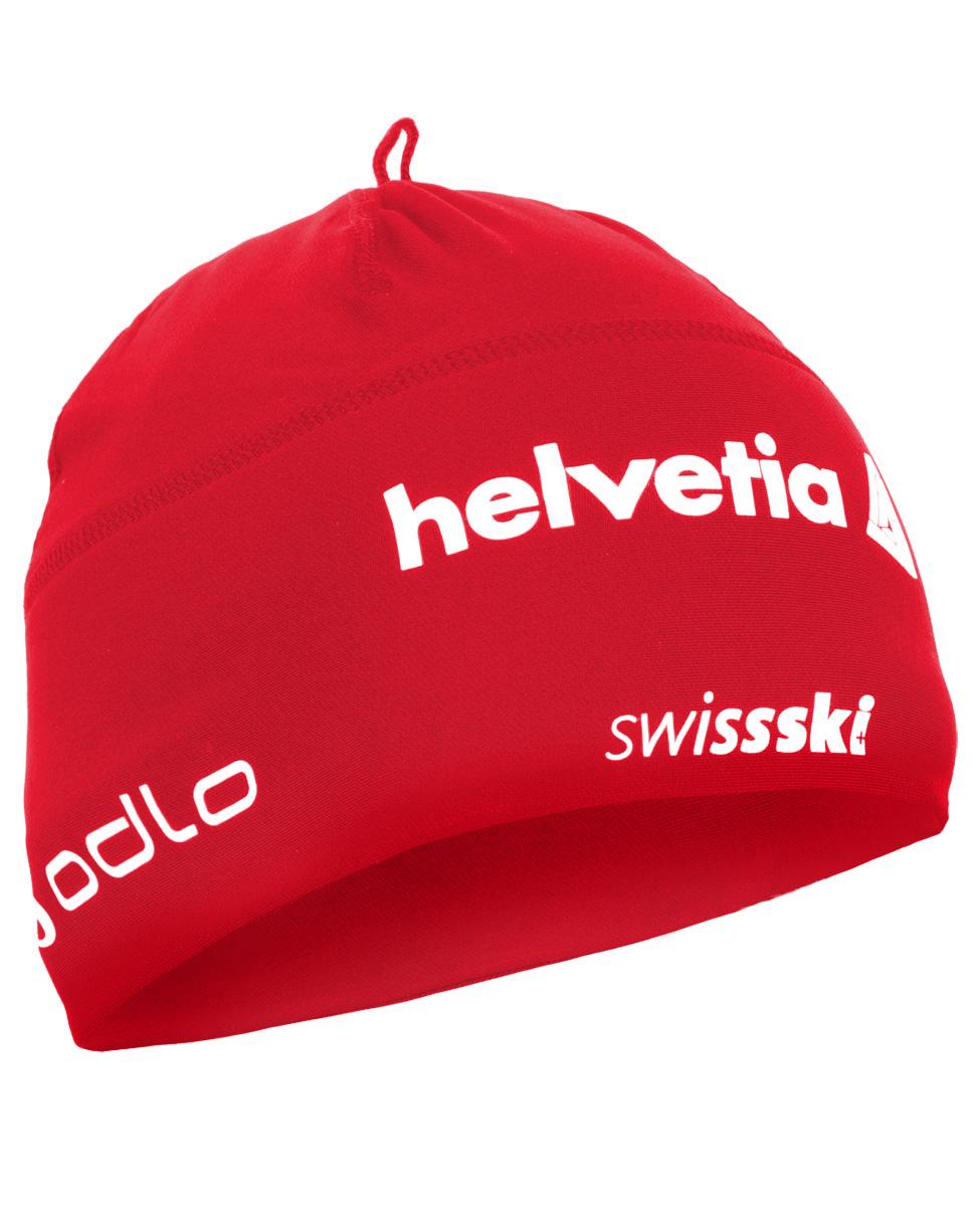 01e74cfecddc84 czapka Odlo Polyknit Team Light czerwona