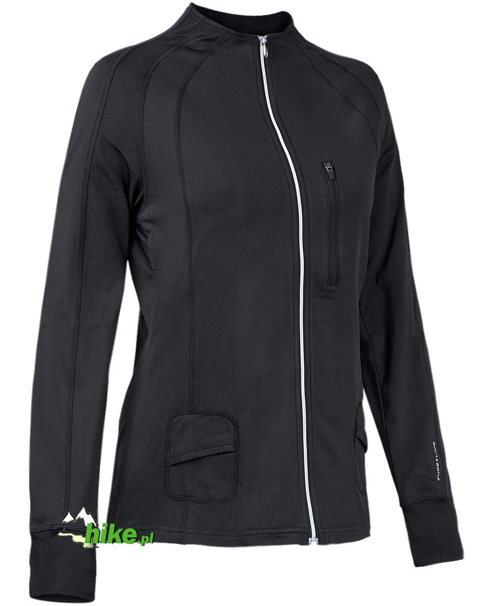 damska bluza Pure Lime Plush Jacket czarna