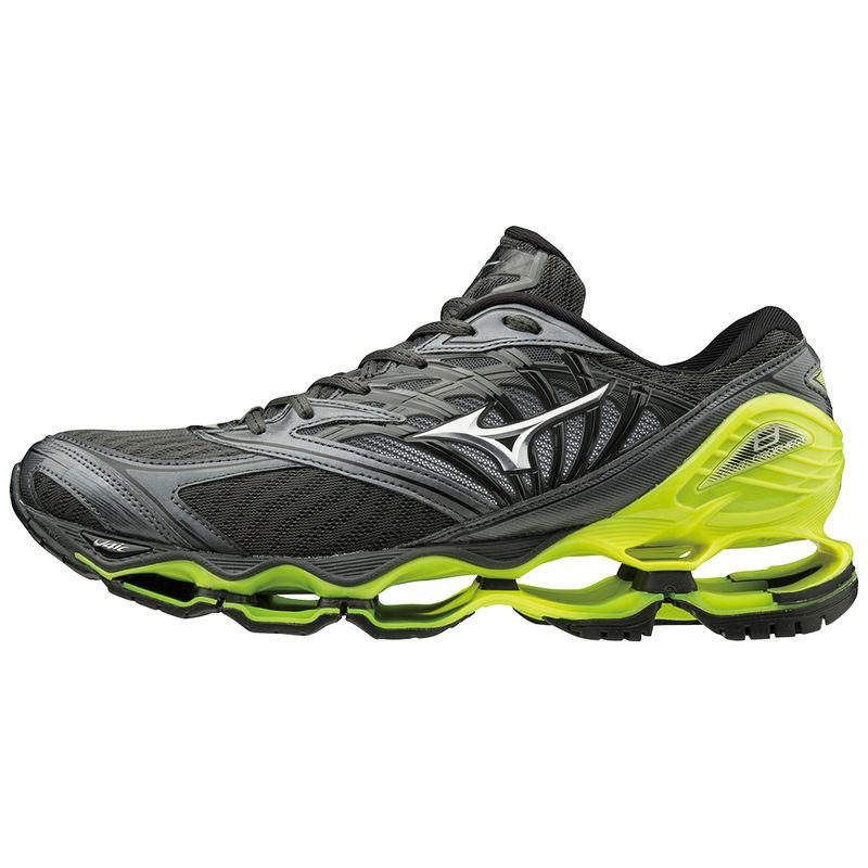 95be57f8 Mizuno Wave Prophecy 8 - męskie buty do biegania - grafitowe/żółte