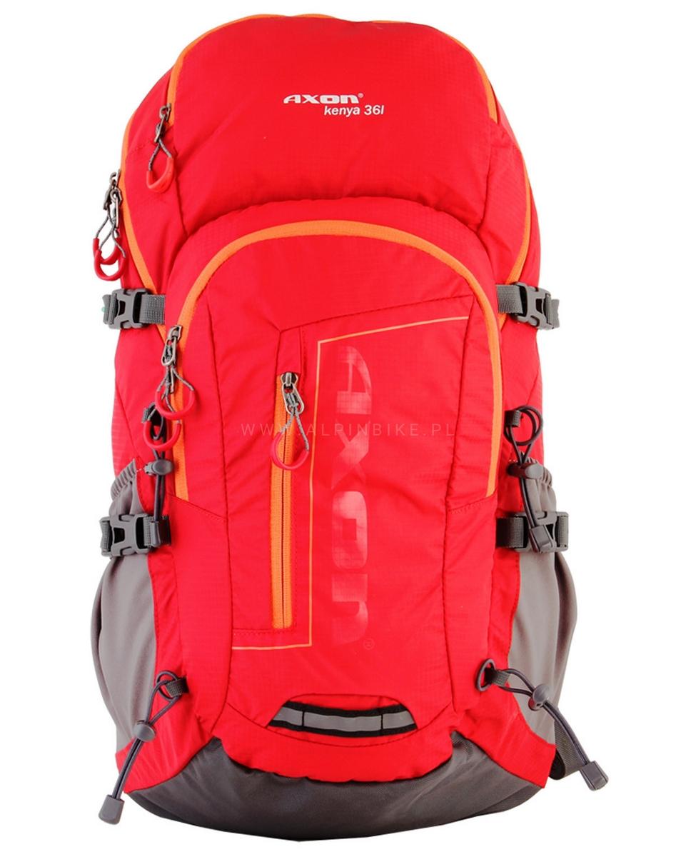 Plecak z systemem wentylacji Axon Kenya 36L czerwony