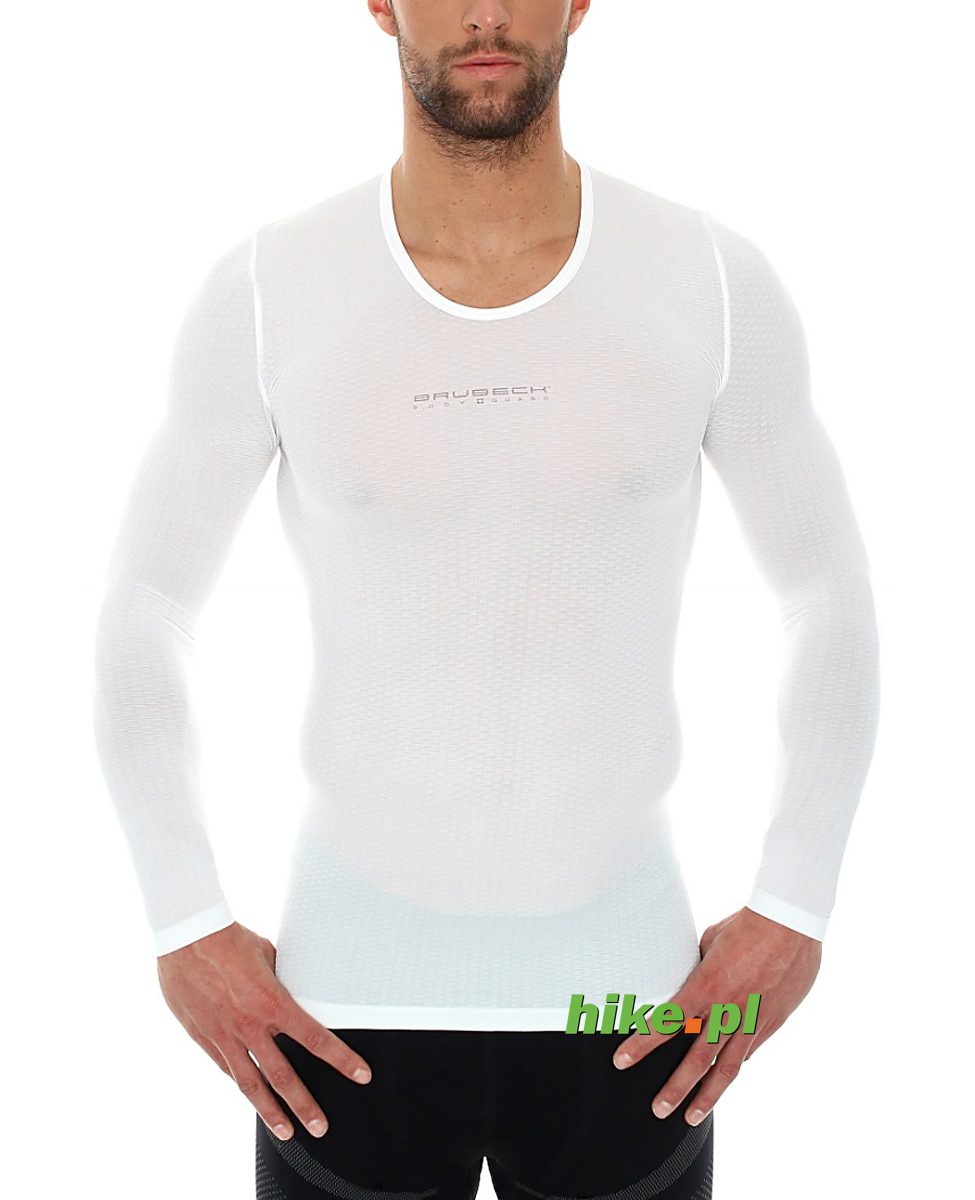 062ede75a3bc69 koszulka unisex Brubeck długi rękaw biała