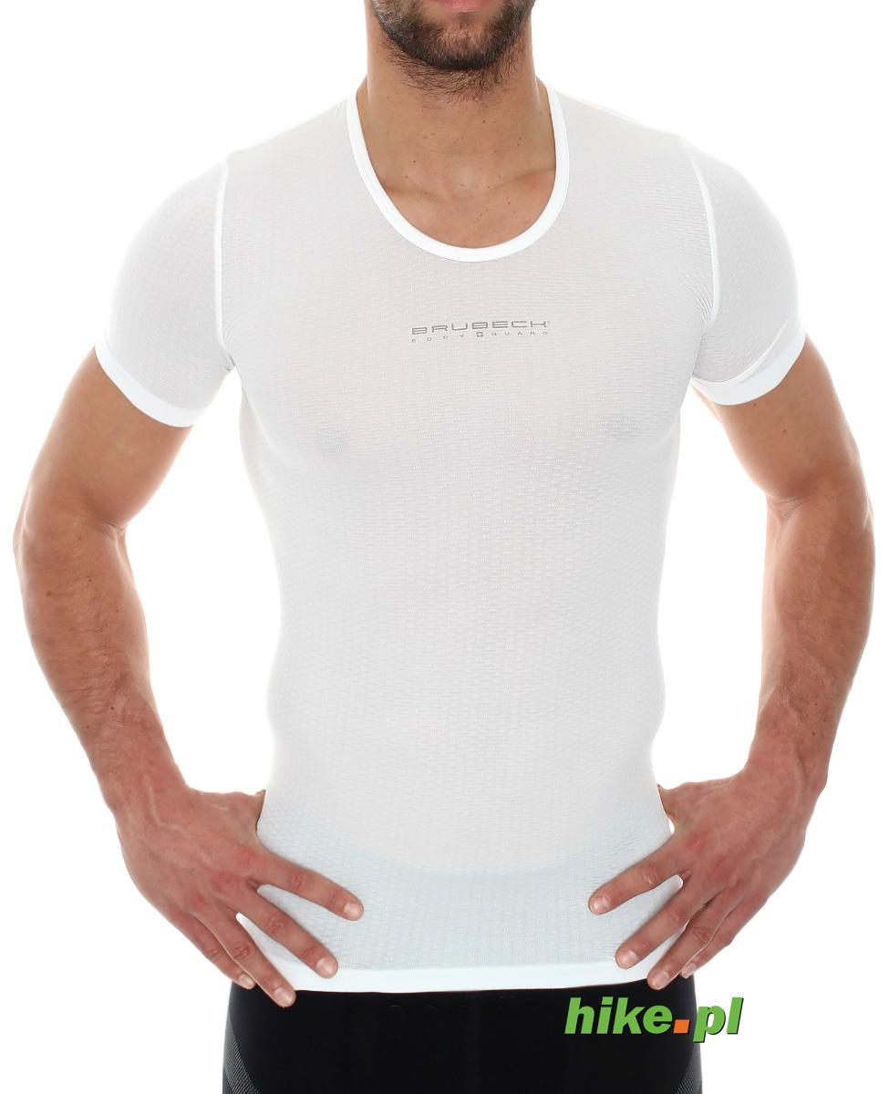 427fe0713c4b40 uniwersalna koszulka unisex Brubeck biała