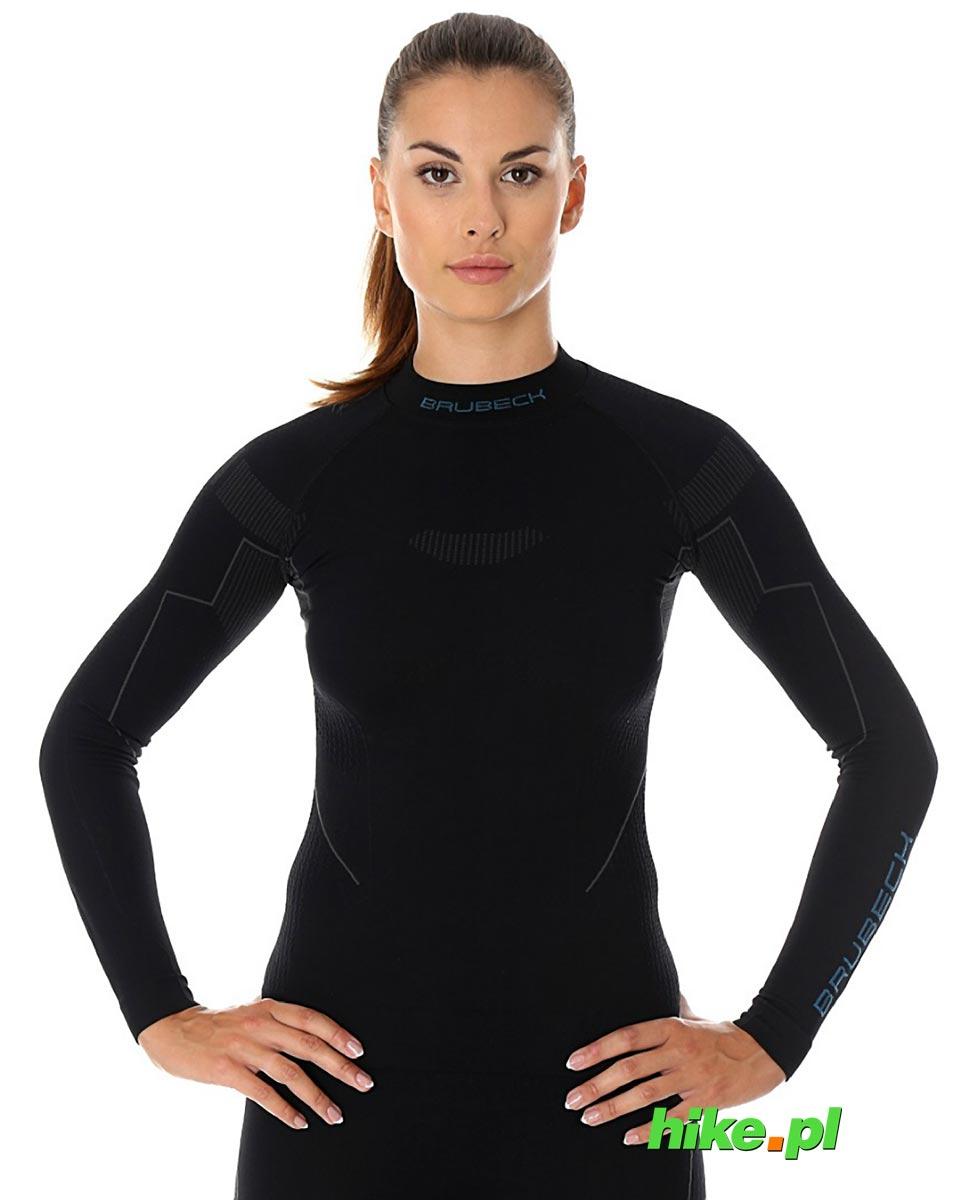 a987e221542d36 Brubeck Thermo damska koszulka termoaktywna czarna