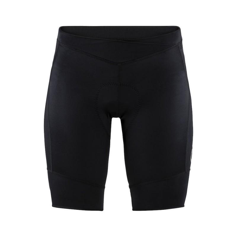 Craft Essence Shorts - damskie spodenki rowerowe - czarne