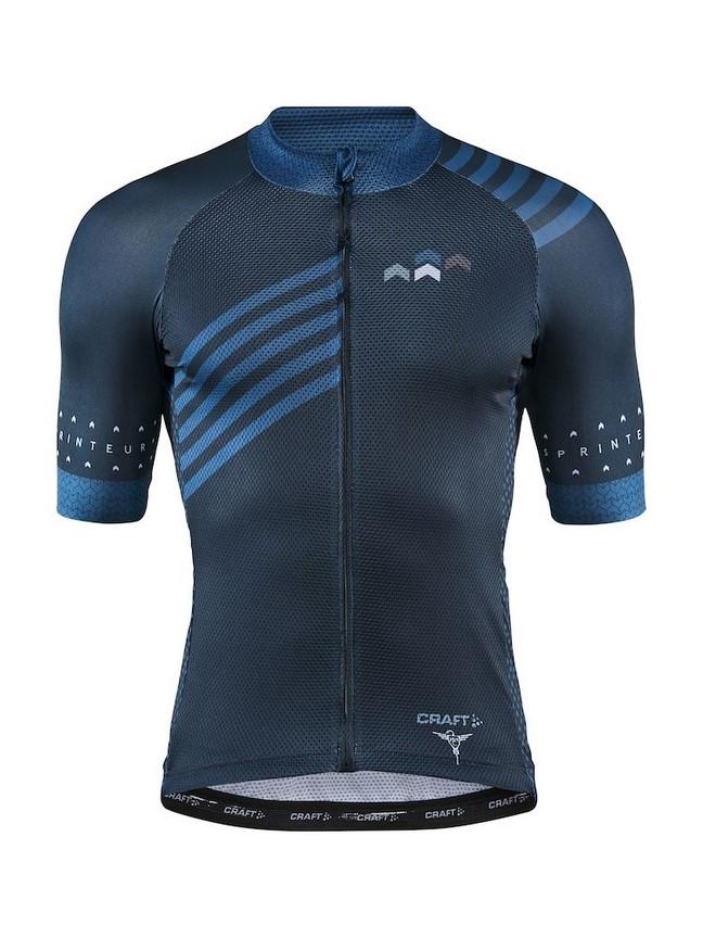 Craft Specialiste Jersey - męska koszulka rowerowa - granatowa