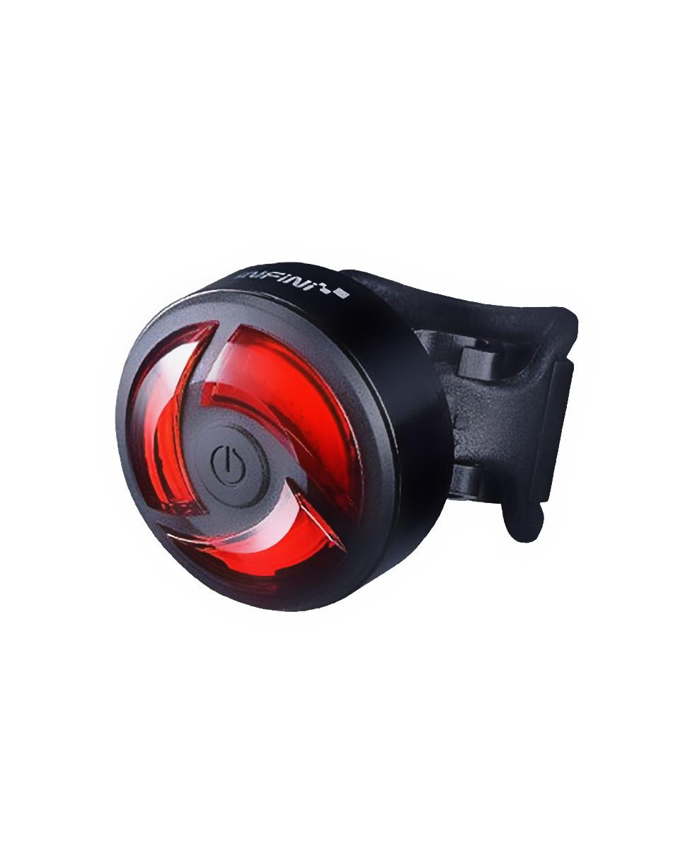 Infini Turbo Black USB lampka rowerowa tylna