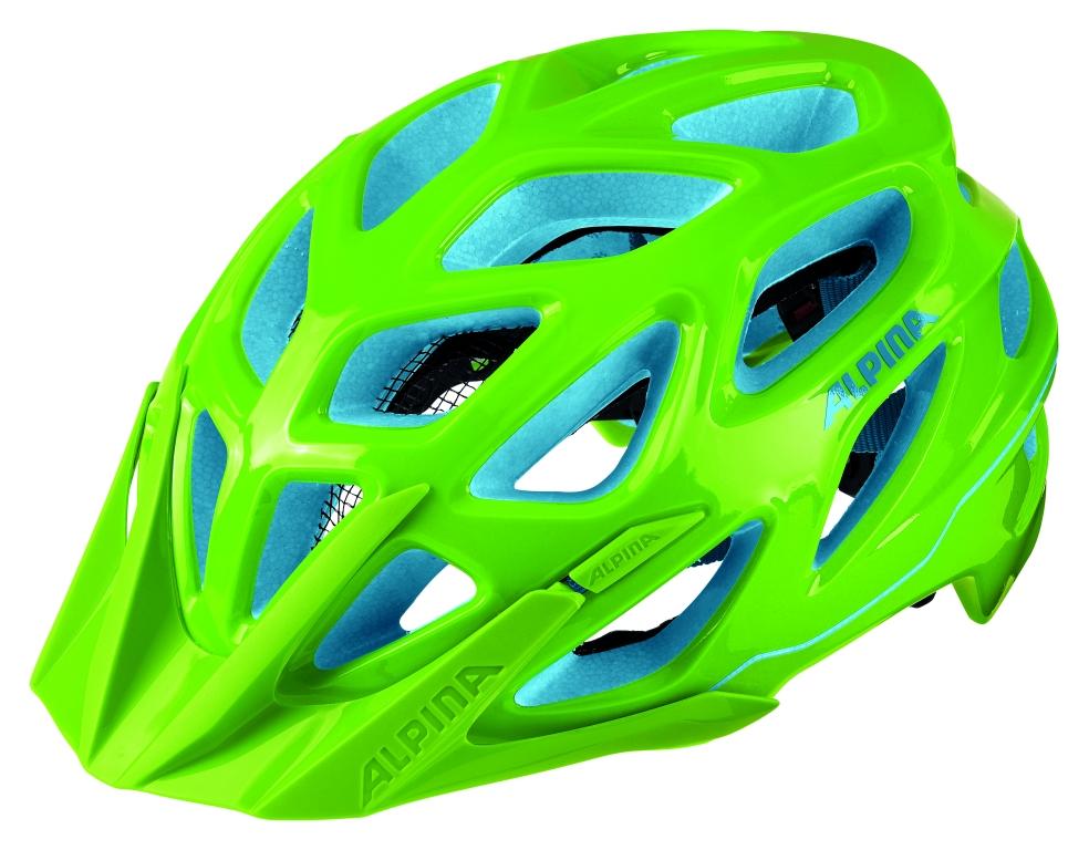 Alpina Kask Mythos 3.0 neonowy zielony-niebieski
