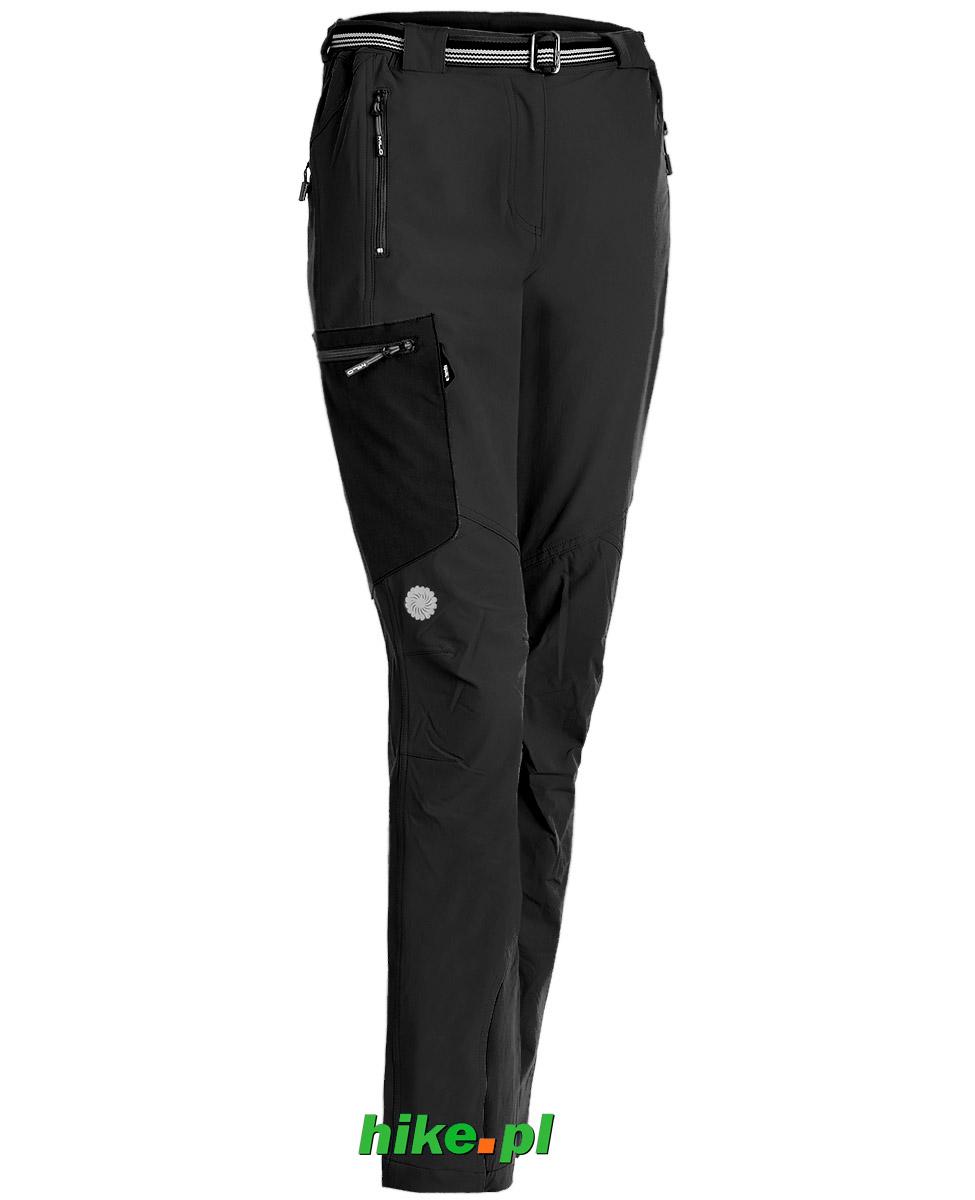 damskie spodnie Milo Vino czarne