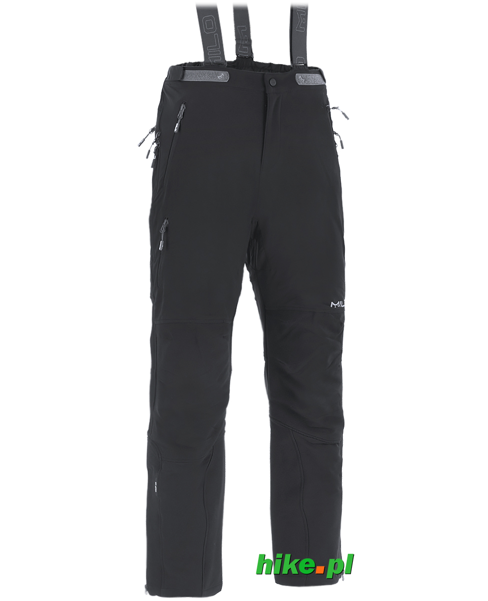 d3887e1460289e męskie spodnie trekkingowe Milo Lahore Pants czarne