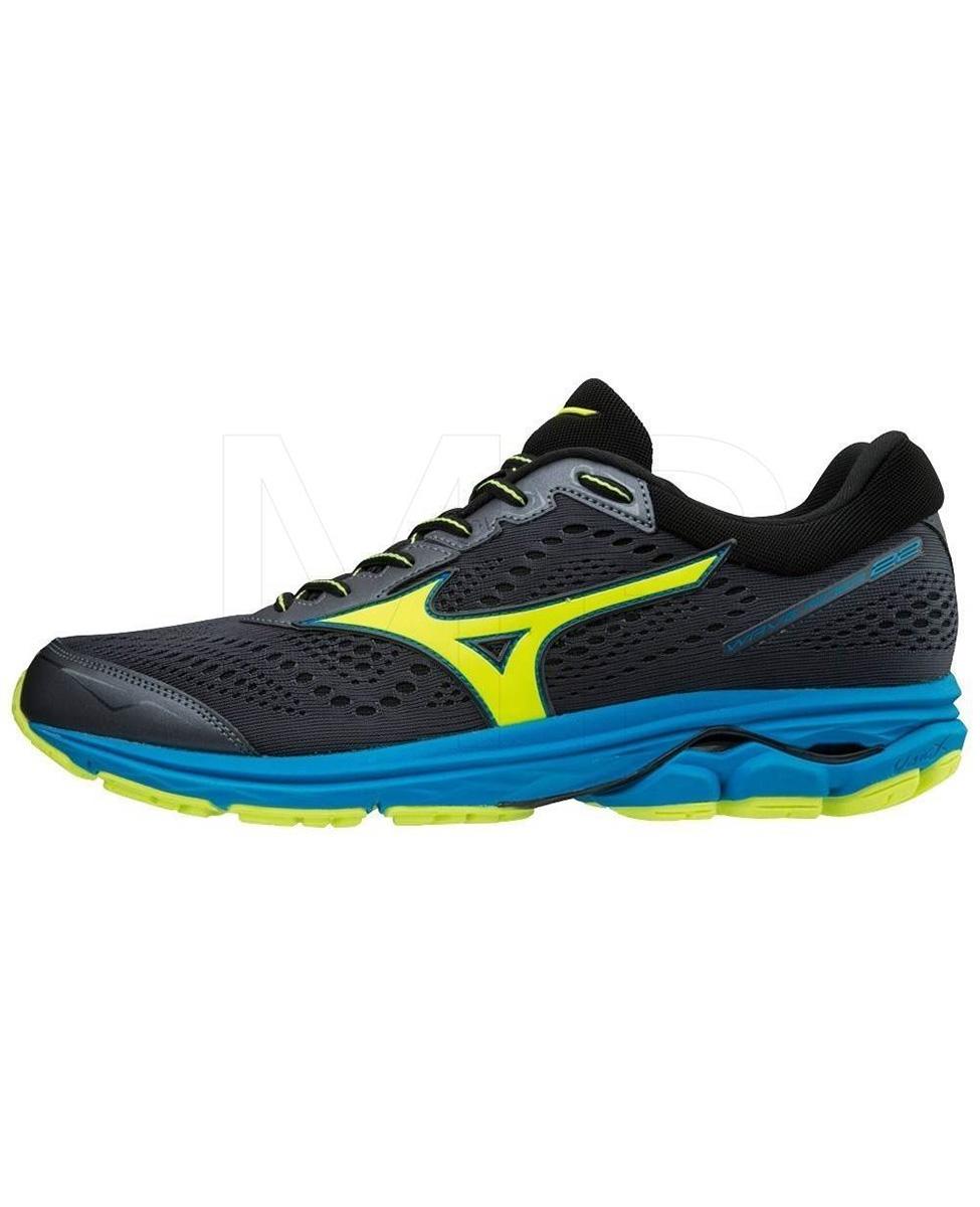 654594f6 MIZUNO WAVE RIDER 22 - męskie buty do biegania, granatowe AW18