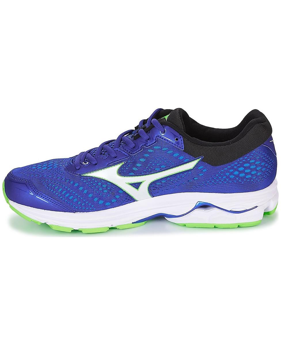 91e2881b MIZUNO WAVE RIDER 22 - męskie buty do biegania, niebieskie AW18