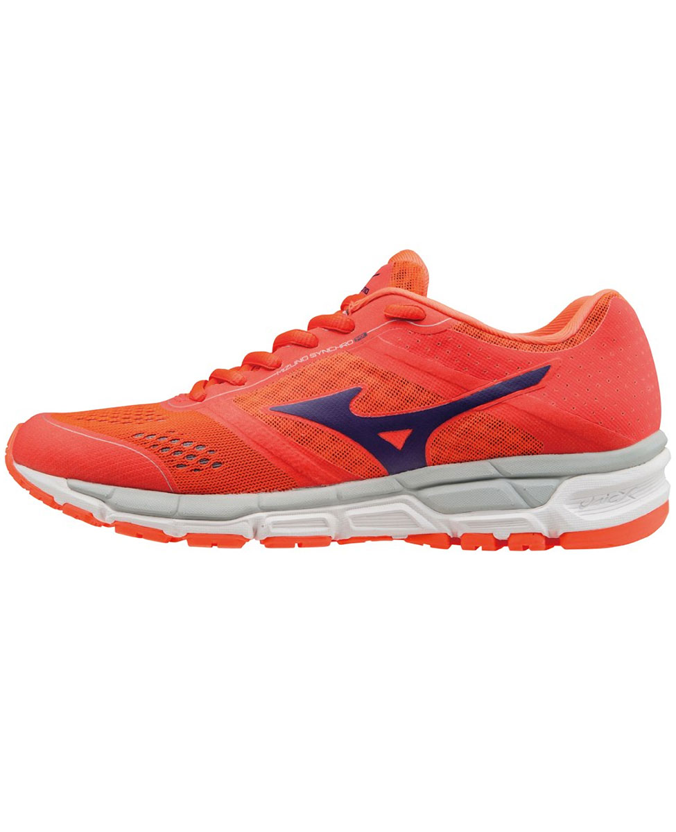 Mizuno Synchro MX - damskie buty do biegania - firered