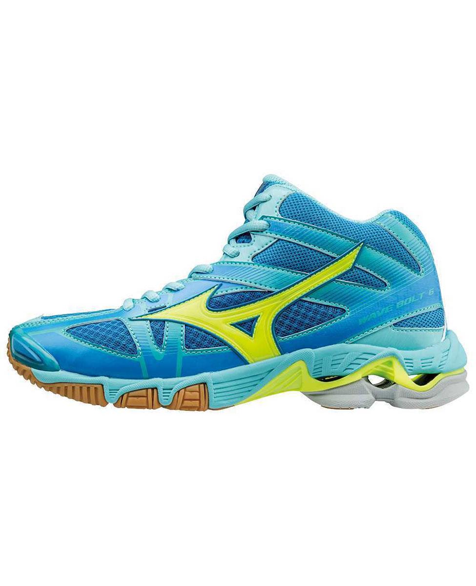 bda7c472 Mizuno Wave Bolt 6 MID - damskie buty siatkarskie - Diva Blue - Hike.pl