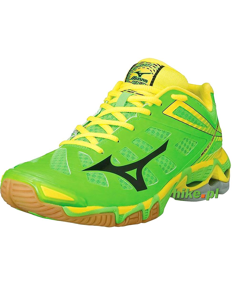 przedstawianie buty skate kupować buty do siatkówki Mizuno Wave Lightning RX3 zielone