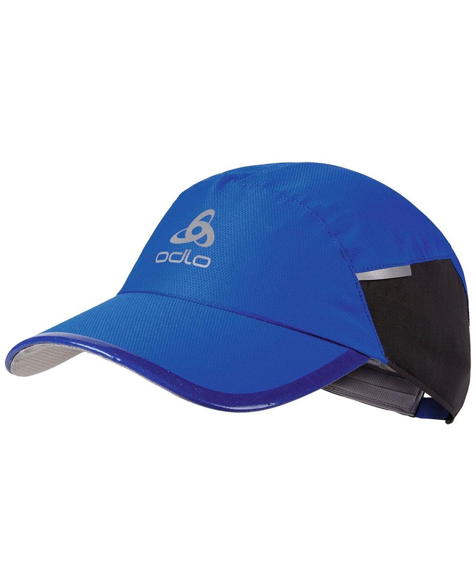 51486660c0ef73 Odlo Cap Fast & Light - czapka z daszkiem niebieska