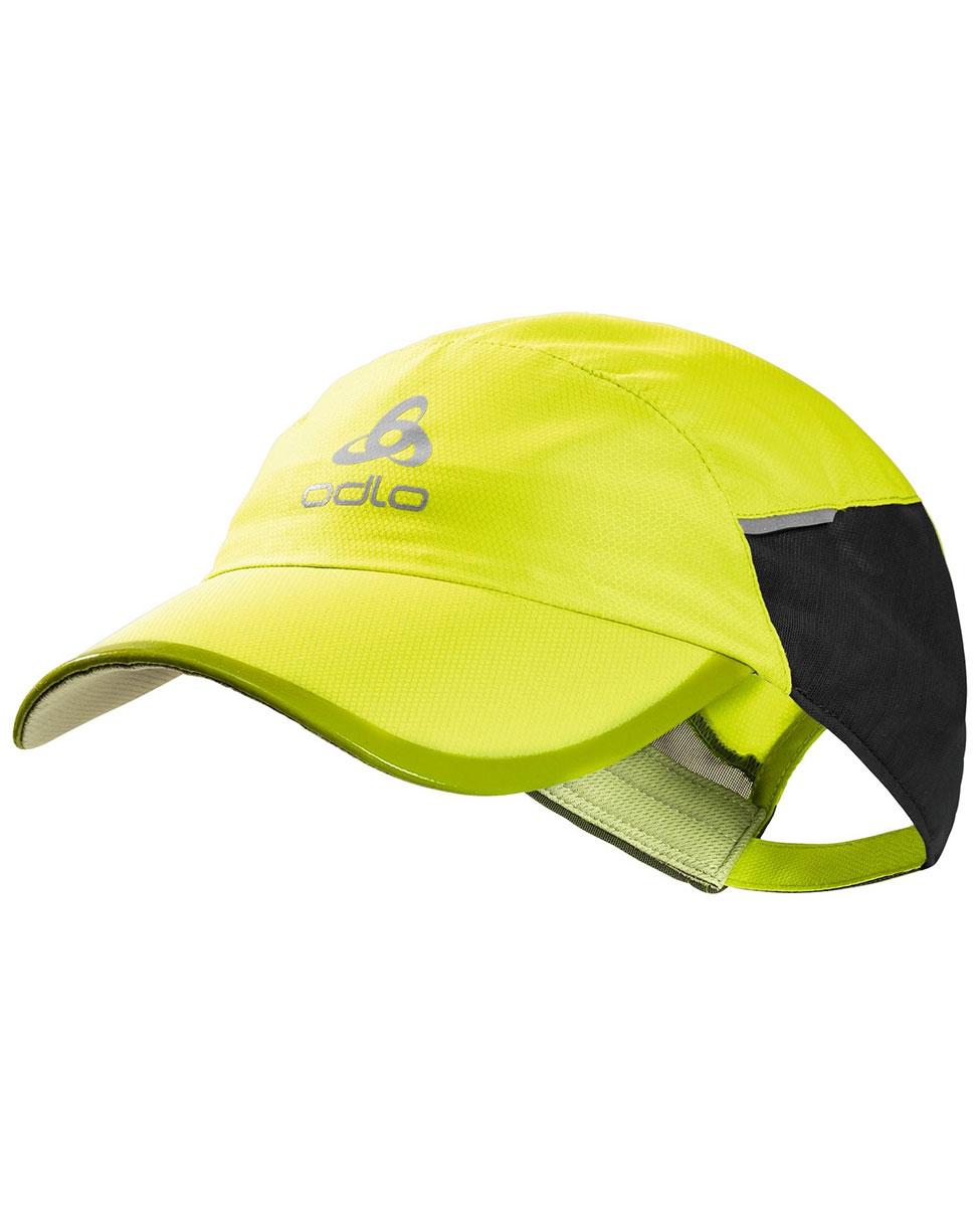 21f716ffc17a42 Odlo Cap Fast & Light - czapka z daszkiem żółta