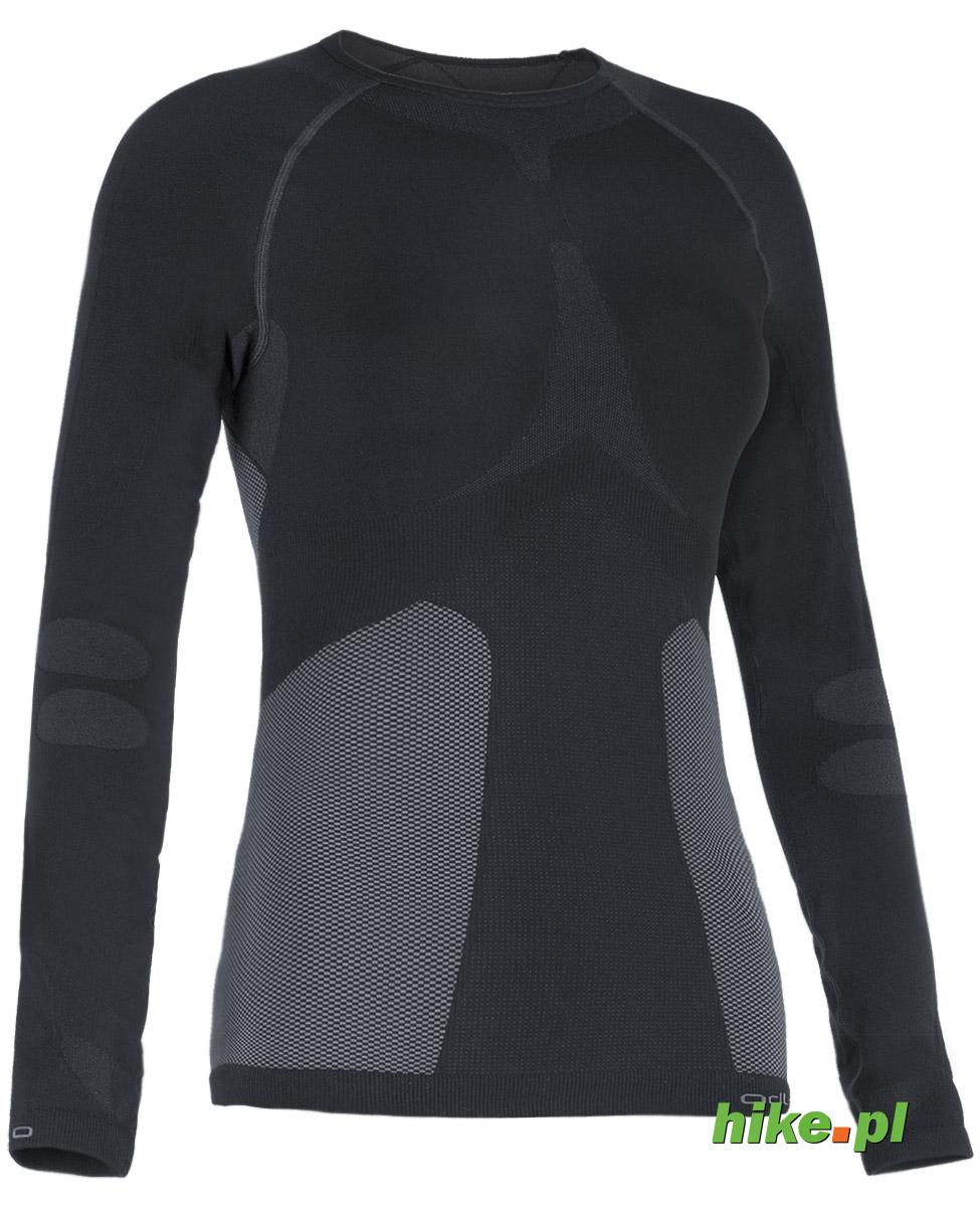 damska koszulka Odlo Evolution Warm czarna