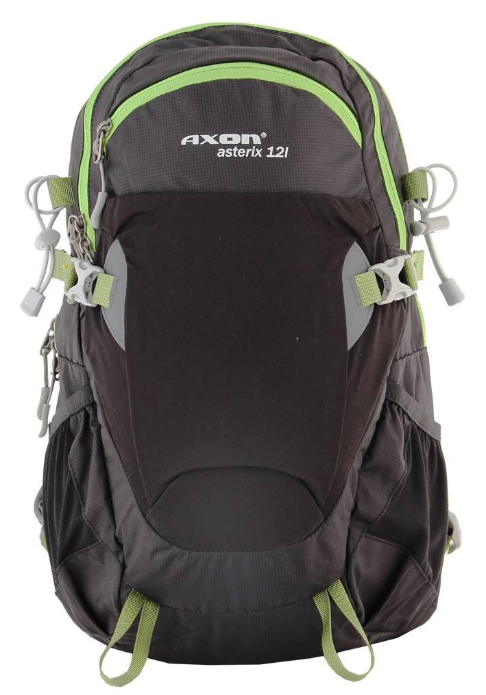 plecak Axon Asterix 12 l czarny/zielony