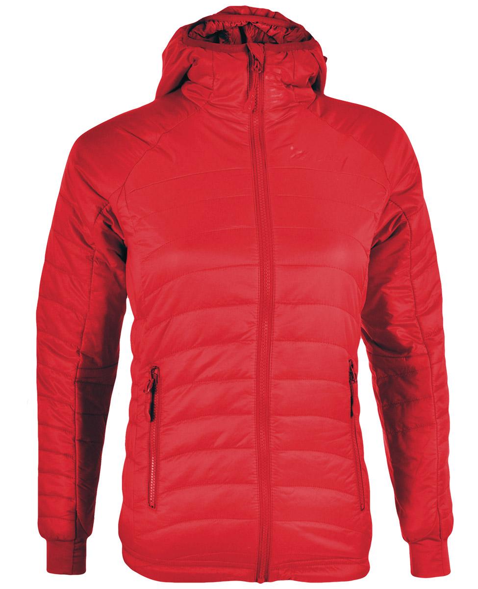 44a48fabb754a Silvini Cesi - damska ciepła kurtka - czerwona