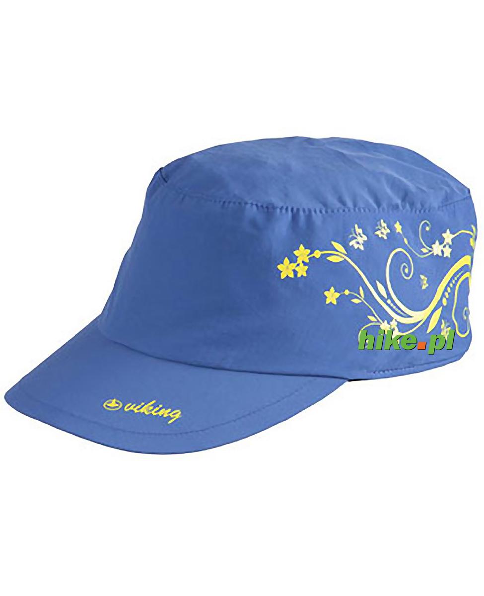 2e286da6c43c46 lekka czapka z daszkiem Viking Jork zielona · Viking Bali - damska czapka z  daszkiem - niebieska