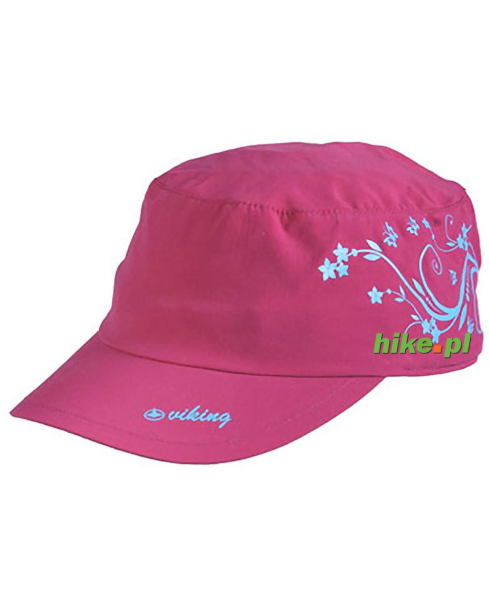 1ab519dbb24291 Viking Bali - damska czapka z daszkiem - różowa