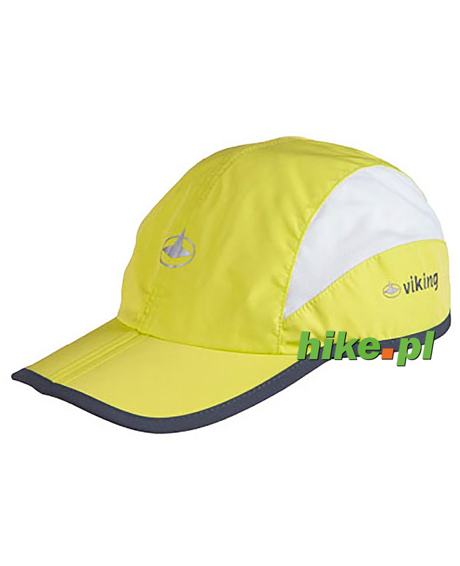 f450f8325064d3 Viking Connor - czapka ze składanym daszkiem - limonka