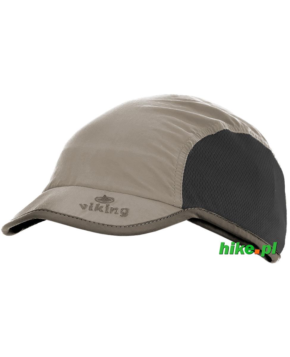 d95cbfa12276c4 lekka czapka z daszkiem Viking Jork beżowa