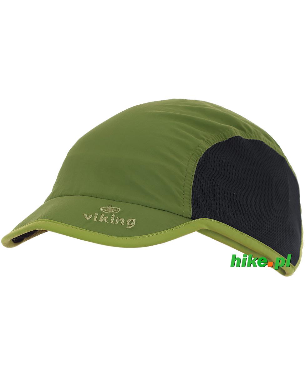 48314f0047b220 lekka czapka z daszkiem Viking Jork zielona - Hike.pl