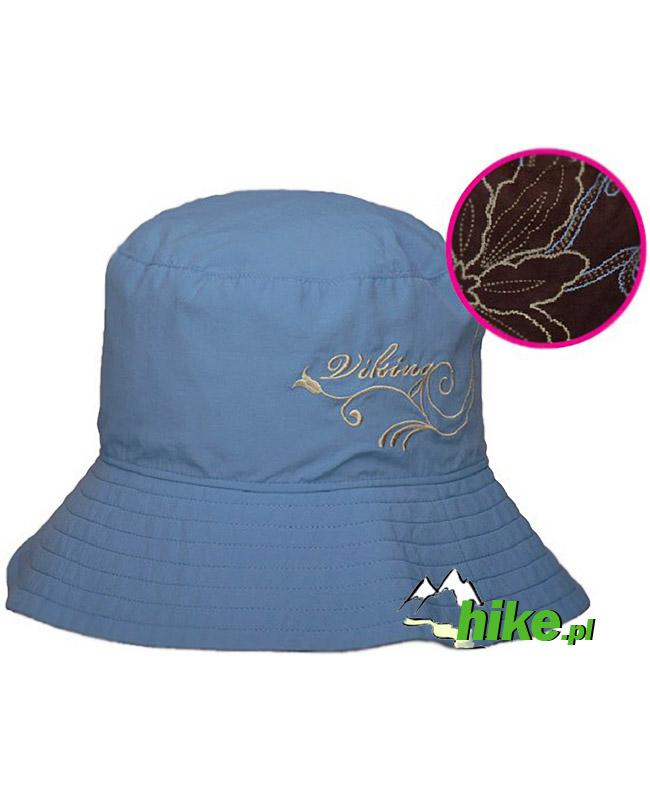damski kapelusz Viking Natasha niebieski