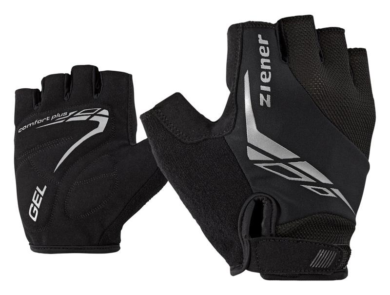 rękawiczki rowerowe Ziener Ceniz czarne