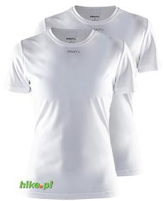 Craft Cool Multi 2-pack koszulki białe SS15