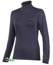 damska bluza termoaktywna Craft Zip Pullover Bodymapping czarna
