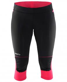 Craft Trial Capri - damskie legginsy 3/4 do biegania w terenie