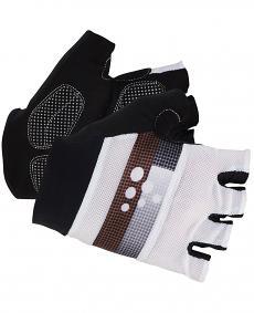 Craft Classic Glove - rękawiczki rowerowe - czarno-białe