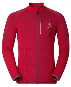 Odlo Velocity Light Jacket wiatroszczelna męska kurtka - czerwona