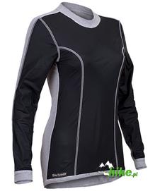 damska koszulka z wiatroszczelnym przodem Berkner Windproof